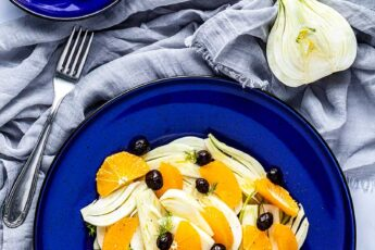 insalata di arance e finocchi