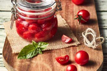 pomodorini in vasetto