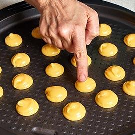 passaggi pasta choux